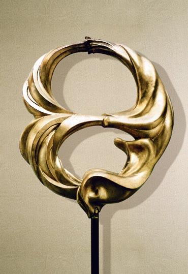"""""""Coito"""": 63cm, bronzo- Erotica Gilbert Kruft"""