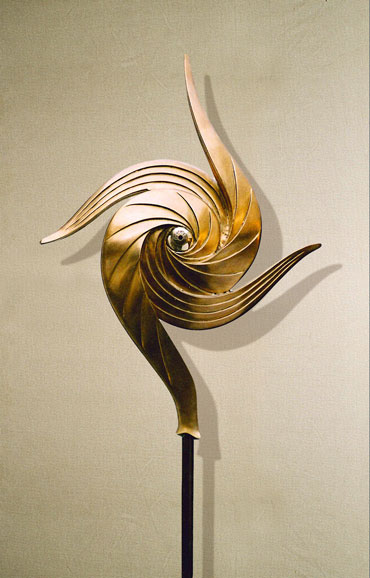 """Egoismo"": h72cm, bronzo, 2001-Epilogo-Le tre forme dell'Ego Umano Gilbert Kruft"