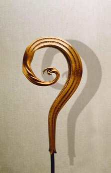 """""""Depressione"""": h70cm, bronzo, 2001-Epilogo- Le tre forme del respiro Umano- Gilbert Kruft"""