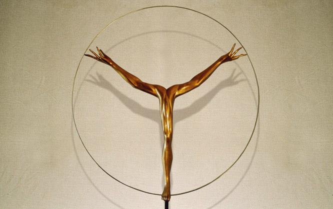 """""""Identità"""": diam110cm, bronzo, 2003- Epilogo Le tre forme dell identita"""