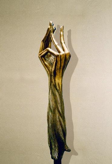 """""""Innamorati"""": 53cm, bronzo- Erotica- Gilbert Kruft"""