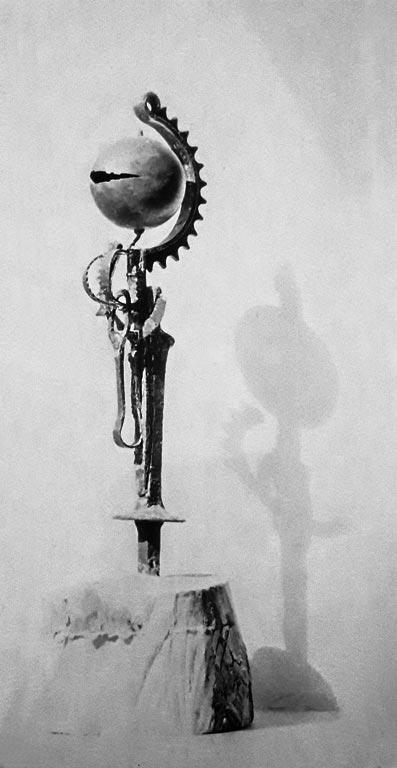 Senza titolo, assemblaggio di rottami, 1961-62 opera attribuita, andata persa- Gilbert-Kruft