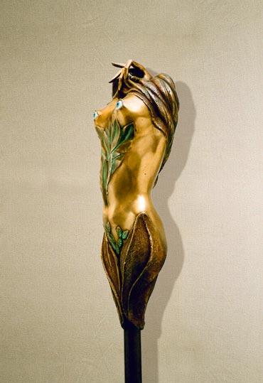 """""""Tentazione"""": 47cm, bronzo"""