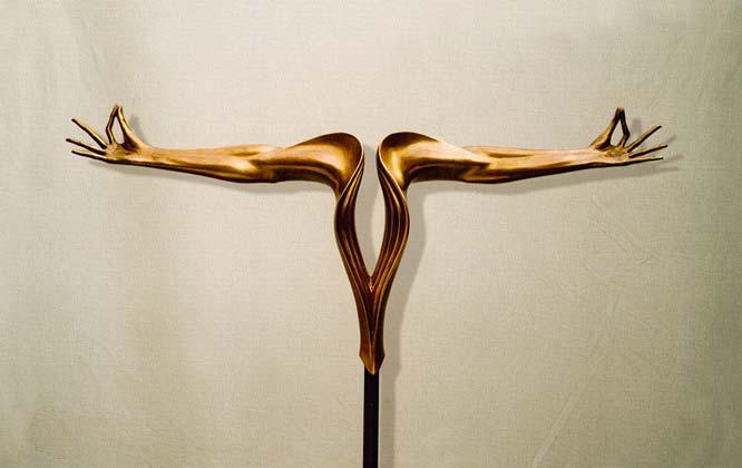 """""""Equilibrio"""": h85cm, bronzo, 2000"""