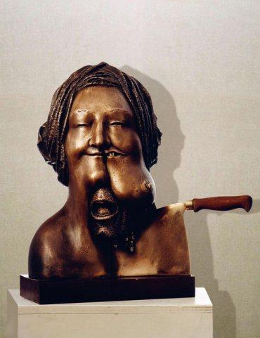 """""""Erdam"""": h41cm, bronzo, 1975- il Visto- Gilbert Kruft"""