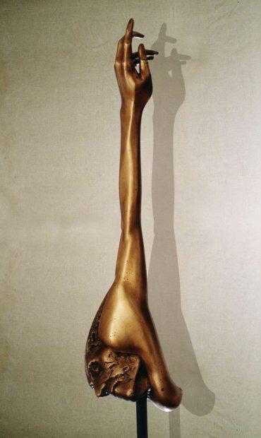 """""""Esasperazione M"""": h70cm, bronzo, 1975, il Vissuto-Gilbert Kruft"""