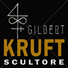 Gilbert Kruft scultore Logo