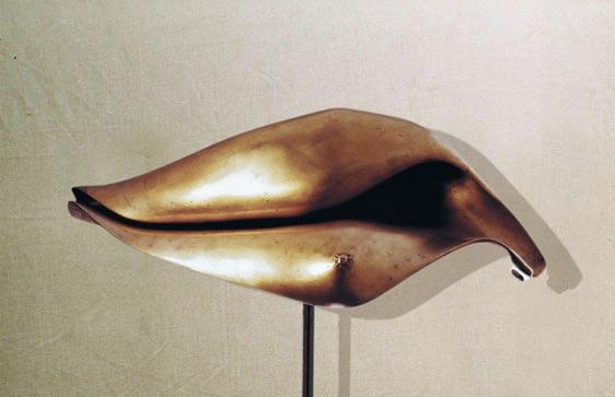 """Sintesi femminile II"": h73cm, bronzo, 1980, il Vissuto - Gilbert Kruft"