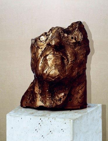 """""""Operaio"""": h29cm, bronzo, 1973- il Visto-Gilbert Kruft"""