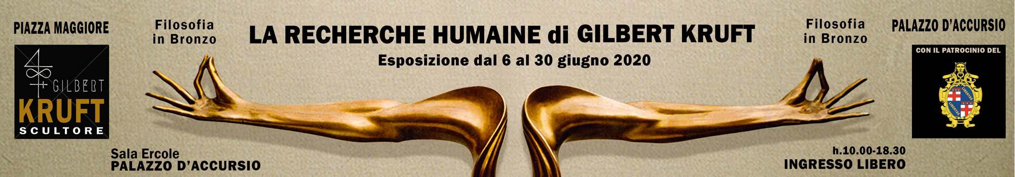 Mostra Gilbert Kruft 2020 Palazzo d'Accursio Bologna
